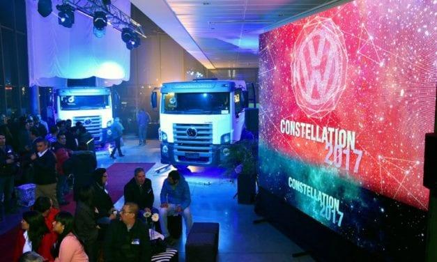 Debutan los VW Constellation en Chile
