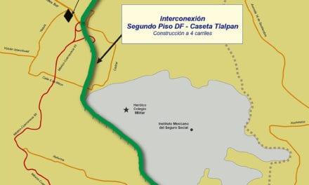 Construirán conexión elevada de Tlalpan a la México-Cuernavaca