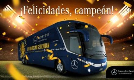 Festeja Mercedes-Benz el triunfo del América