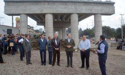 Avances en la construcción de la México-Toluca