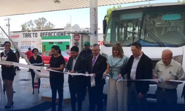 Abren estación de GNV en Aguascalientes