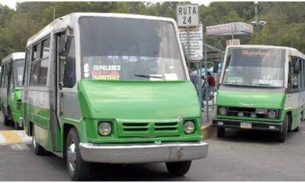 Cancelará GCMX emisión de concesiones a microbuses