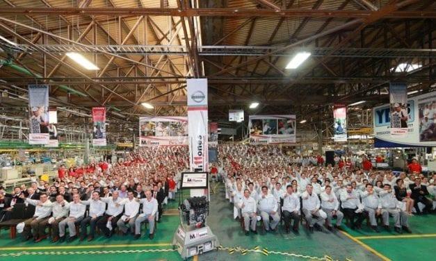 Nissan celebra la producción de su motor 11 millones
