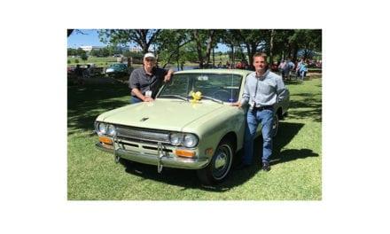 Distinguen a Datsun Pick UP en Texas