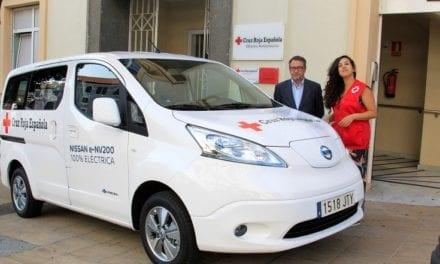 Dona Nissan una e-NV200 a la Cruz Roja de España
