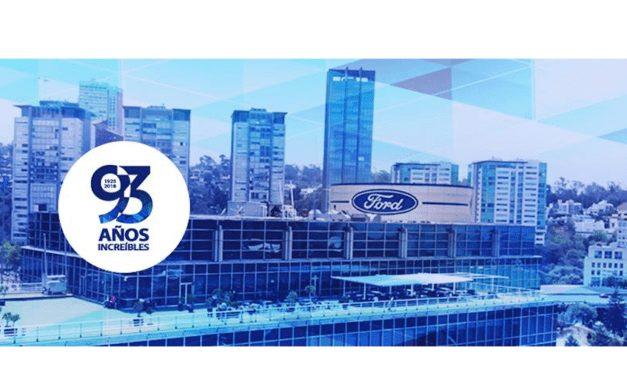 Ford, una trayectoria de éxito para llegar más lejos