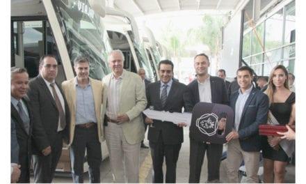 Entrega Scania 10 unidades a Vallarta Plus
