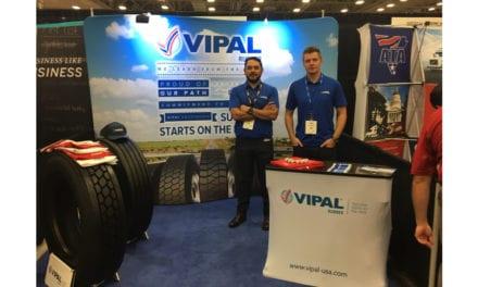 Participa Vipal Cauchos en el Great American Trucking Show