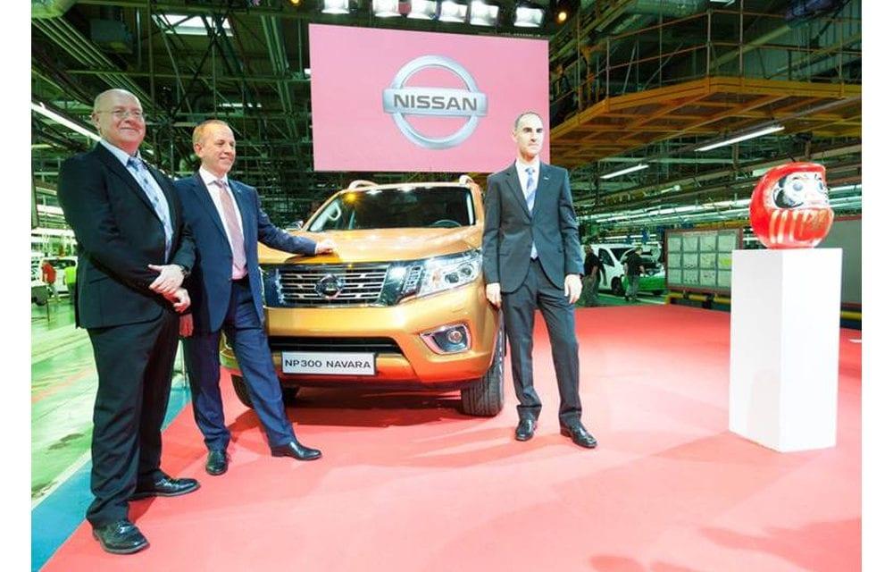 Inicia España producción de la Nissan NP300 Frontier