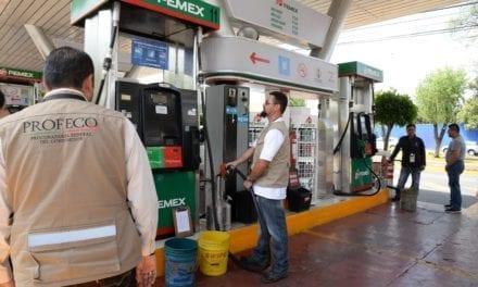 Prometen litros exactos gasolineras de Onexpo
