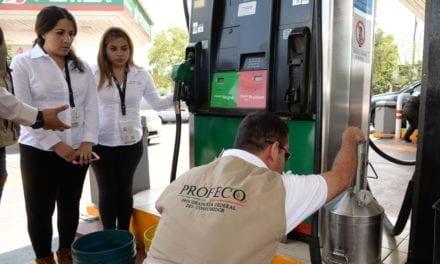 Multa Profeco a gasolineras con 133 mdp