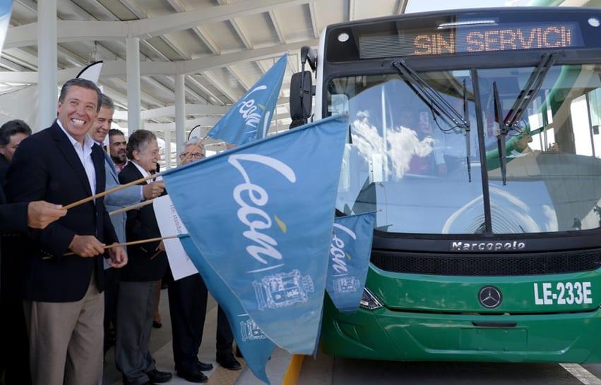 Inauguran tercera etapa del Optibús en León