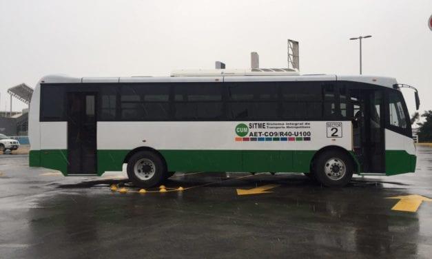 Con 10 autobuses arranca nueva ruta en Nuevo León