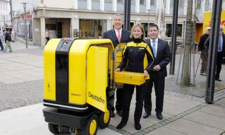 Prueba DHL un robot eléctrico autopropulsado