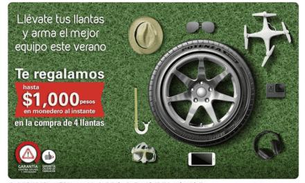 Anuncia Bridgestone promoción de temporada