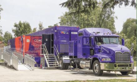Transporta Mack el Museo interactivo de la Ciencia