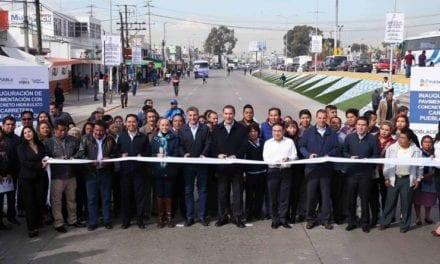 Modernizan tramo de la carretera Puebla-Amozoc