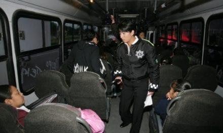 Refuerzan seguridad en transporte público de la CDMX