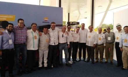 Celebra Repsol su llegada al sureste del país