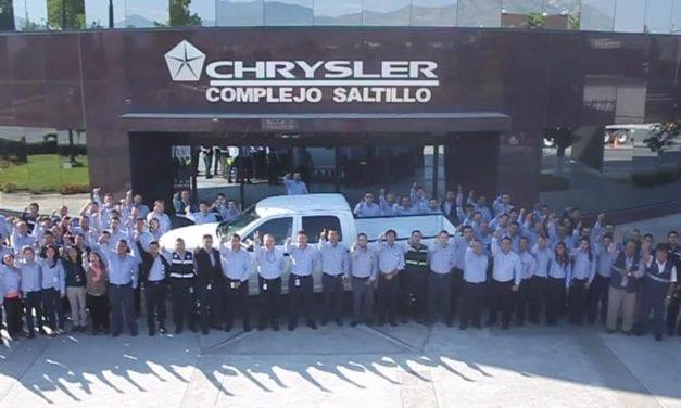 Recibe nivel bronce Planta de Ensamble FCA de Saltillo