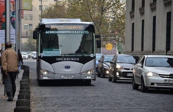 Premian a Santiago de Chile por Transporte Sustentable