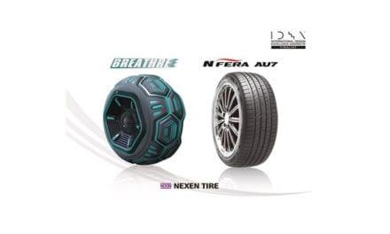 Obtiene Nexen Tire dos reconocimientos de diseño