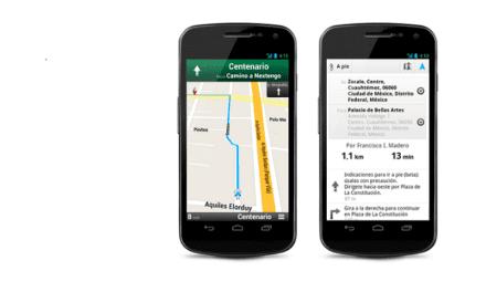 Lanzan Google Transit