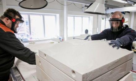 Impresiones 3D de arena para componentes Volvo