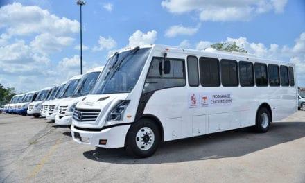 Sigue modernización del transporte en Tabasco