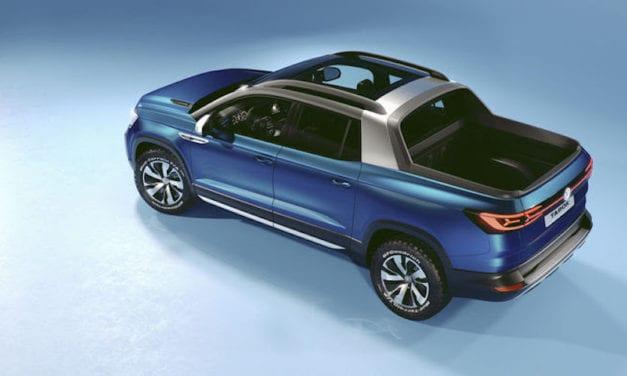 Se llama Tarok y es la pick-up de Volkswagen