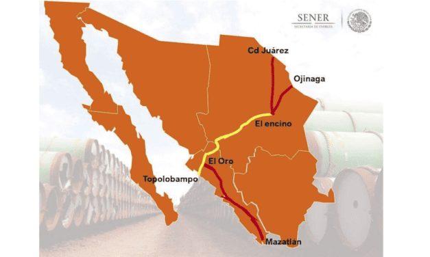 Gasoducto de Texas a Sinaloa casi listo