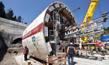 Arranca la tuneladora para el Tren Interurbano
