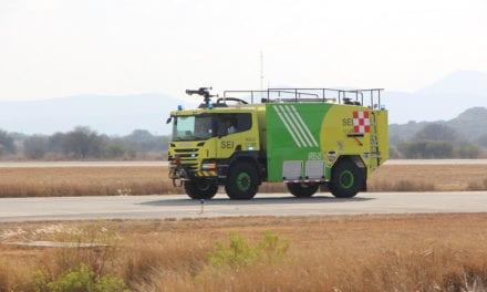Entrega Scania 3 unidades de rescate aeroportuario