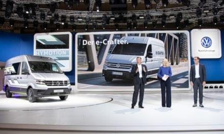 5 unidades cero emisiones de VW Vehículos Comerciales