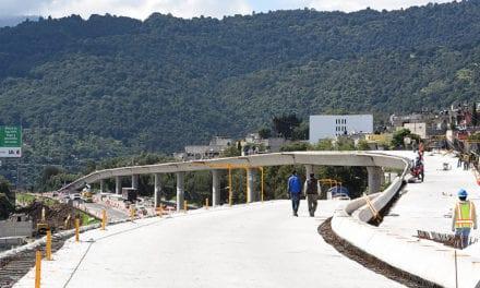 Avance del 90% en obras del Viaducto Elevado de Tlalpan