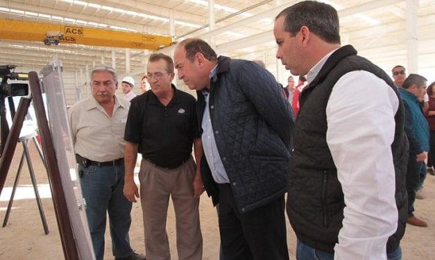 Avanza construcción de la planta de Utility en Coahuila