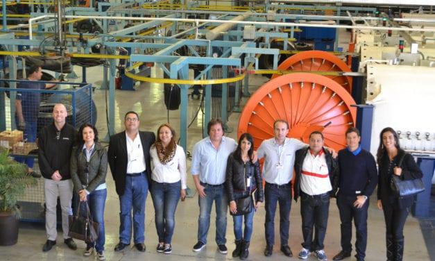 Visita Refrillantas Honduras plantas de Vipal en Brasil