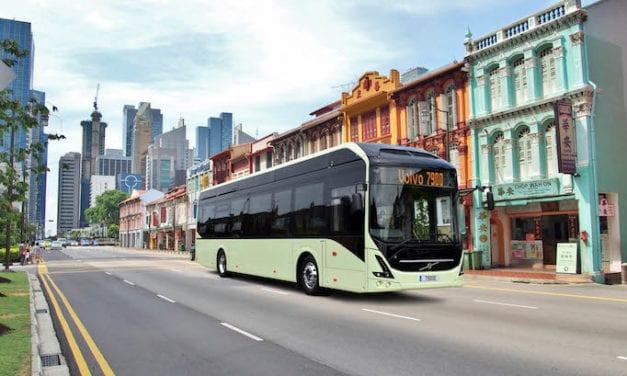Singapur quiere transporte autónomo con Volvo