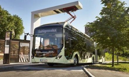 Es turno de los Volvo articulados eléctricos