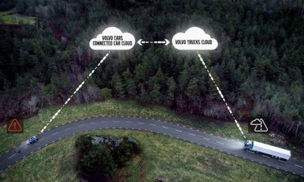 Cooperación por la seguridad entre Volvo Trucks y Volvo Cars