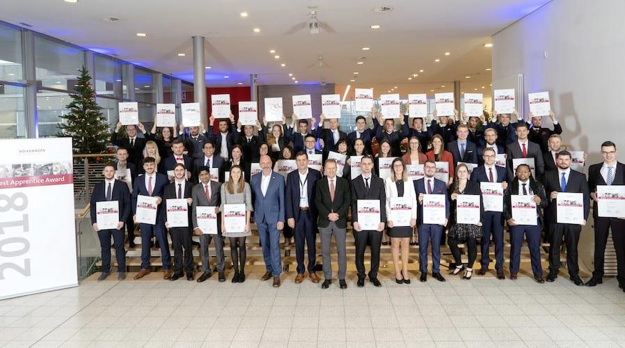 Figura México en premios al Mejor Aprendiz 2018 de VW