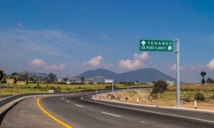 Modernizan la Autopista Tenango-Ixtapan de la Sal