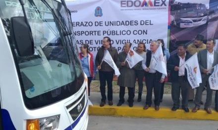 Suma Edoméx 400 vehículos de pasaje para Zumpango