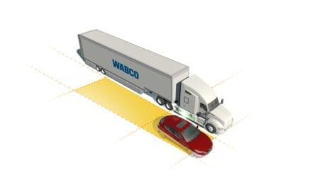 Lanza Wabco sistema de detección de punto ciego