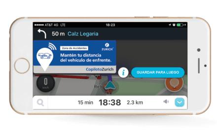Se unen Zurich México y Waze en pro de la seguridad vial