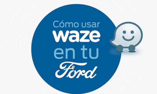 Acceso más dinámico a Waze en vehículos Ford
