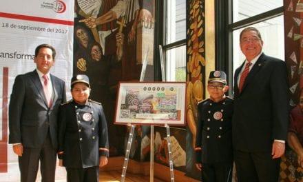 Celebra Canacintra 75 años con un billete conmemorativo de la Lotería Nacional