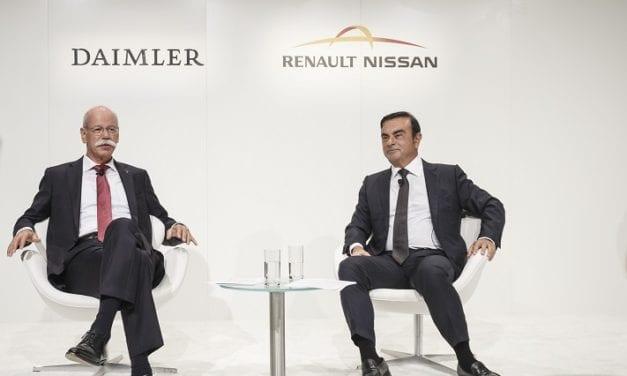 Se robustece la colaboración entre Daimler y la Alianza Nissan-Renault