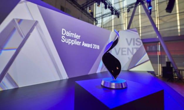 Los ganadores del Daimler Supplier Award 2018