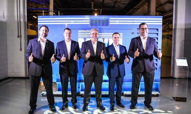 Lanza MWM línea de generadores de energía en Brasil